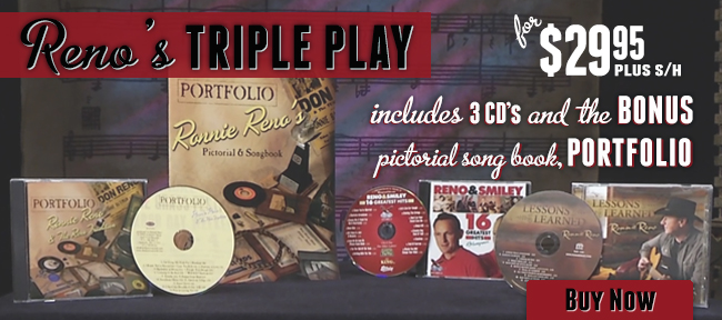 Ronnie Reno Triple Play for Store