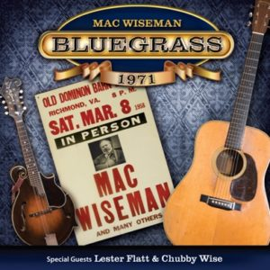 Mac Wiseman Bluegrass 1971