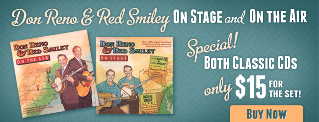 Don Reno & Red Smiley - On Stage & On Air